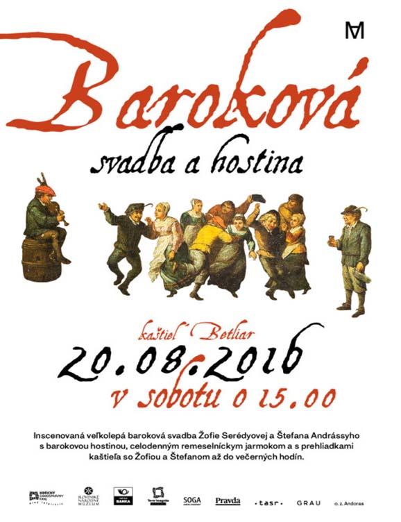 Barokova svadba Betliar