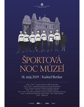 Športová noc múzeí 2019