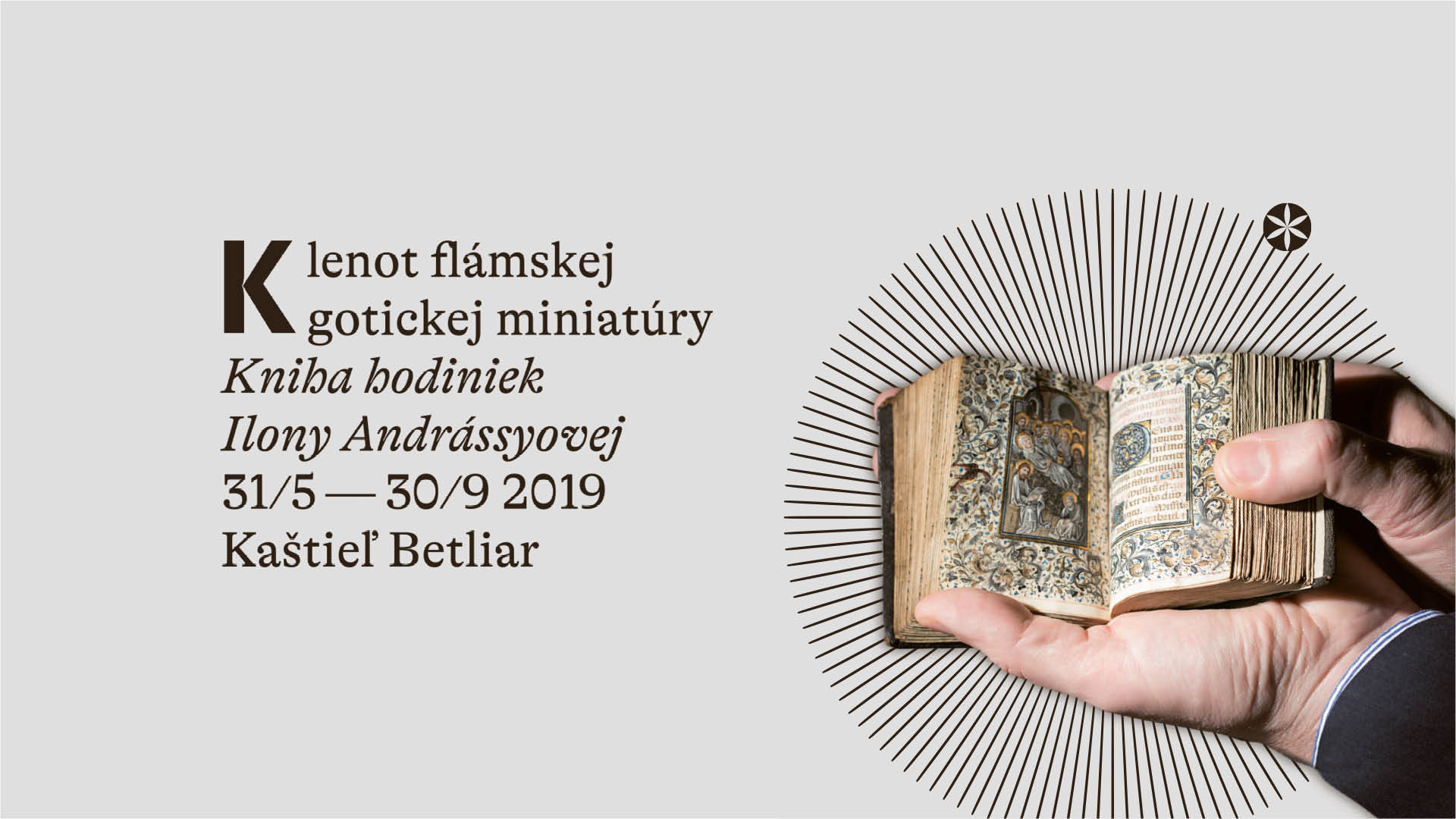 Klenot flámskej gotickej miniatúry: Kniha hodiniek Ilony Andrássyovej