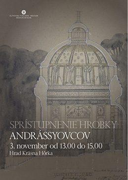 Sprístupnenie hrobky Andrássyovcov