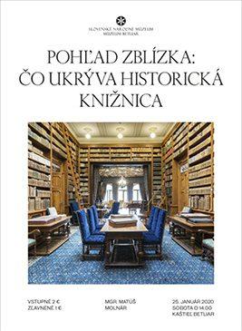 Pohľad zblízka: Čo ukrýva historická knižnica