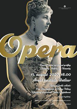 Operný večer Eleonóry Andrássy - Kaunitz