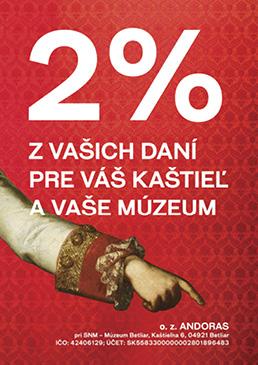 2% Muzeum Betliar 2021